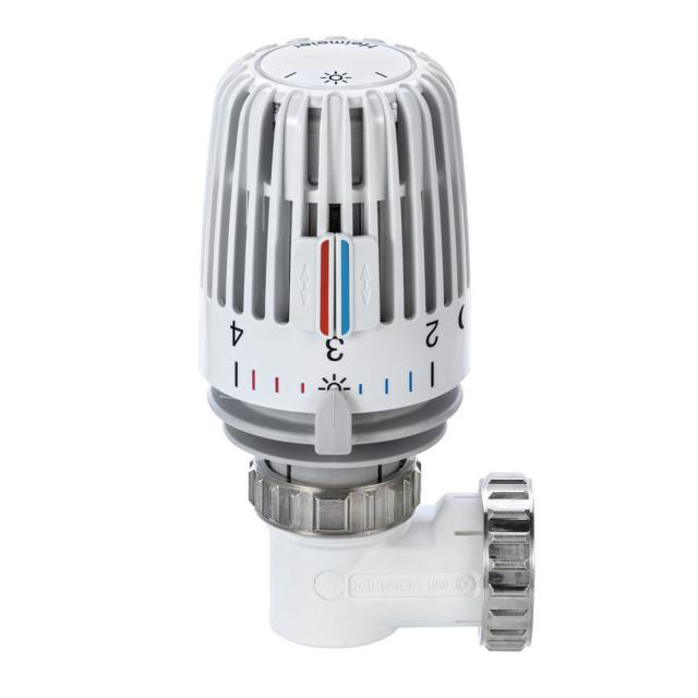 HEIMEIER thermostatic head set WK angled for radiators with integrated valves