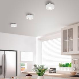 Helestra KARI Spot/plafonnier LED, carré