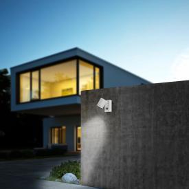Helestra Part LED spotlight/wall light with motion sensor