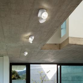 Helestra PAX LED ceiling light / spotlight 2 heads