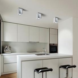 Helestra Pont ceiling light/spotlight, square