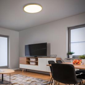 Helestra Rack LED ceiling light, round
