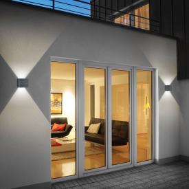 helestra SIRI 44 LED wall light, adjustable light output