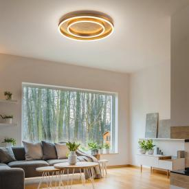 Helestra SONA LED ceiling light, double