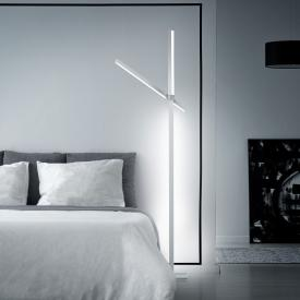 helestra Stay LED floor lamp with dimmer