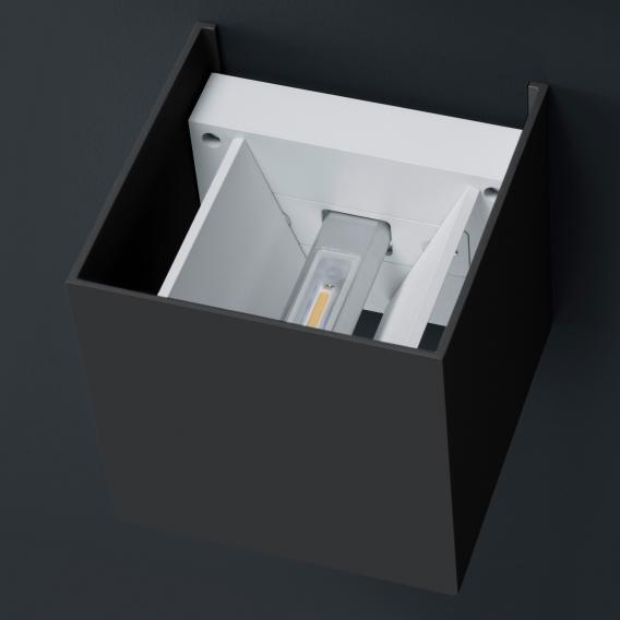 Helestra SIRI 44 LED wall light, adjustable light emittance