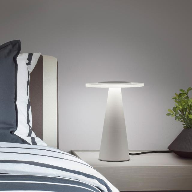 helestra Bax LED table lamp with dimmer