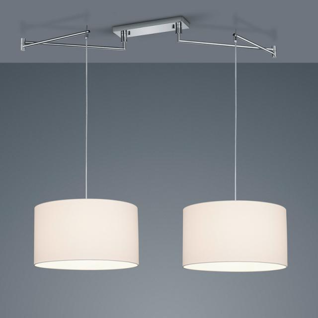 helestra CERTO Suspension LED 2 sources de lumière