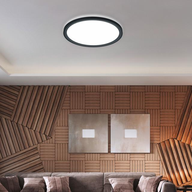 helestra DAWA LED ceiling light with CCT