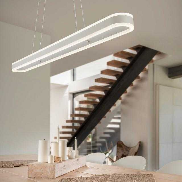 helestra LIV LED pendant light, long bar