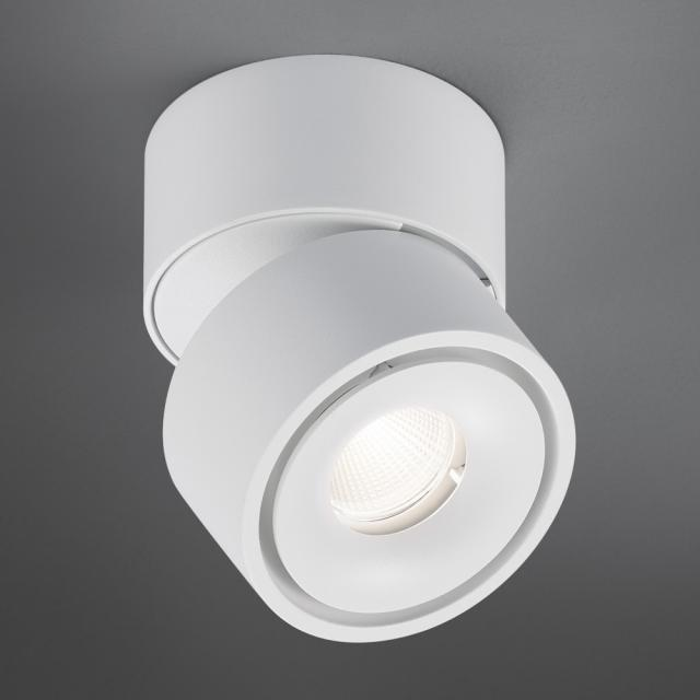 helestra NAKA LED ceiling light / spotlight, single