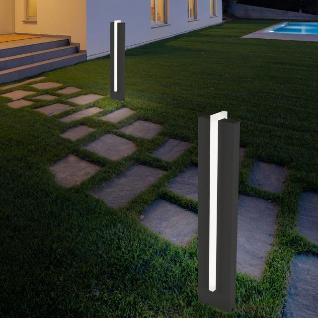 helestra Oki LED bollard light
