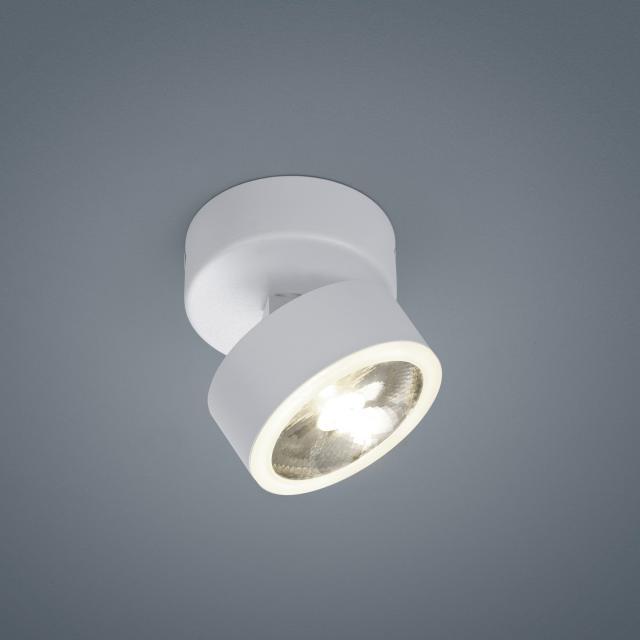 helestra PAX LED ceiling light / spotlight 1 head