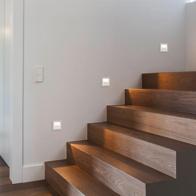 helestra SENT LED recessed wall light