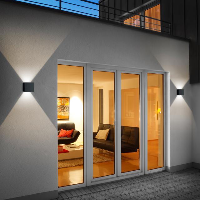 helestra SIRI 44 - L LED wall light, adjustable light output