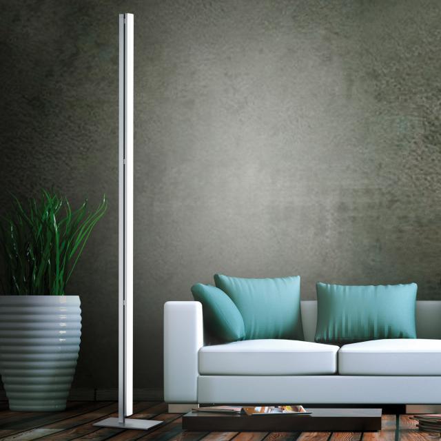 helestra VENTA LED floor lamp with dimmer