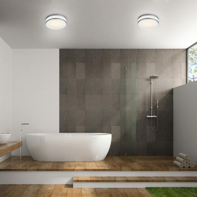helestra ZELO LED ceiling light with motion sensor