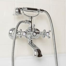 Herzbach Anais exposed bath mixer chrome
