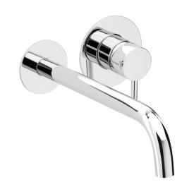 Herzbach DEEP wall-mounted concealed basin mixer projection: 240 mm