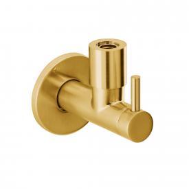 "Herzbach Design iX PVD design angle valve 1/2"" x 3/8"" brass steel"