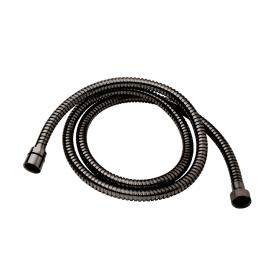 Herzbach Design iX PVD metalflex shower hose length: 1250 mm, black steel