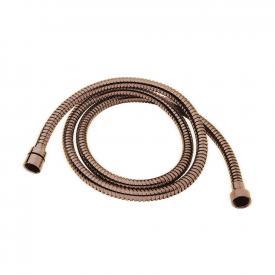 Herzbach Design iX PVD metalflex shower hose length: 1600 mm, copper steel