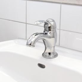 Herzbach Epoca single hole basin mixer chrome
