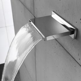 Herzbach Living Spa cascade spout polished stainless steel