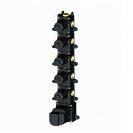 Herzbach Logic XL 5 universal thermostat module with 5 shut-off valves