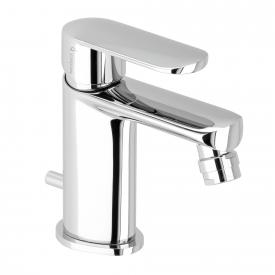 Herzbach Memo single lever bidet mixer with pop-up waste set