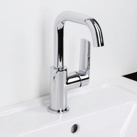 Herzbach Ventura monobloc basin mixer for open water heaters without waste set