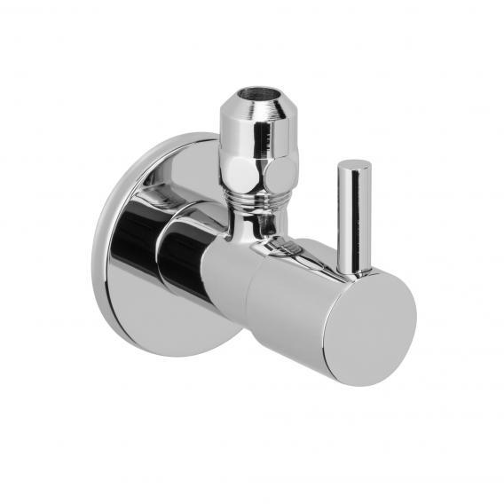 "Herzbach angle valve 1/2"" x 3/8"""