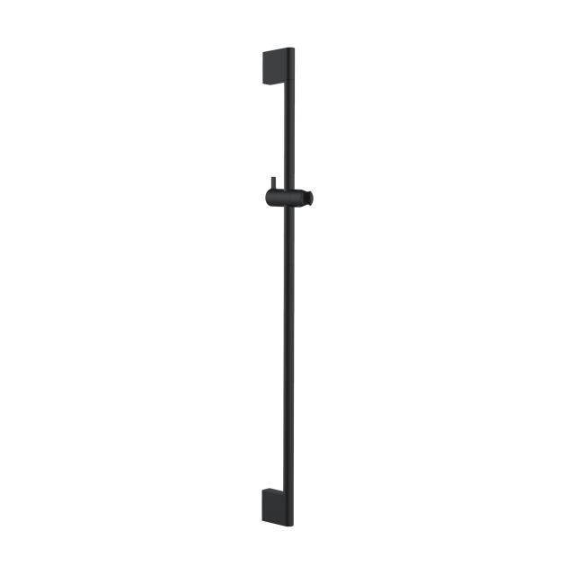 Herzbach DEEP BLACK wall-mounted shower rail Slide M