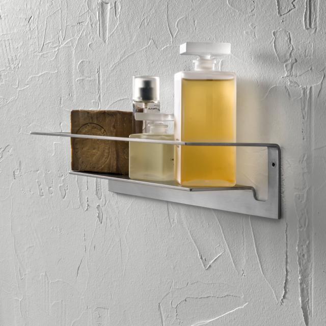 Herzbach Design iX wall-mounted shelf for shower utensils