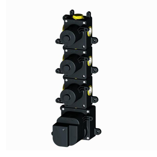 Herzbach Logic XL 3 universal thermostat module with 3 shut-off valves