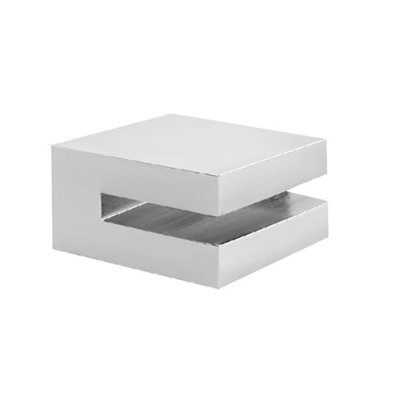 Herzbach Pixa set of brackets for 6 mm glass shelf