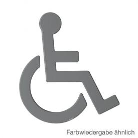 Hewi Universal symbol, wheelchair anthracite grey