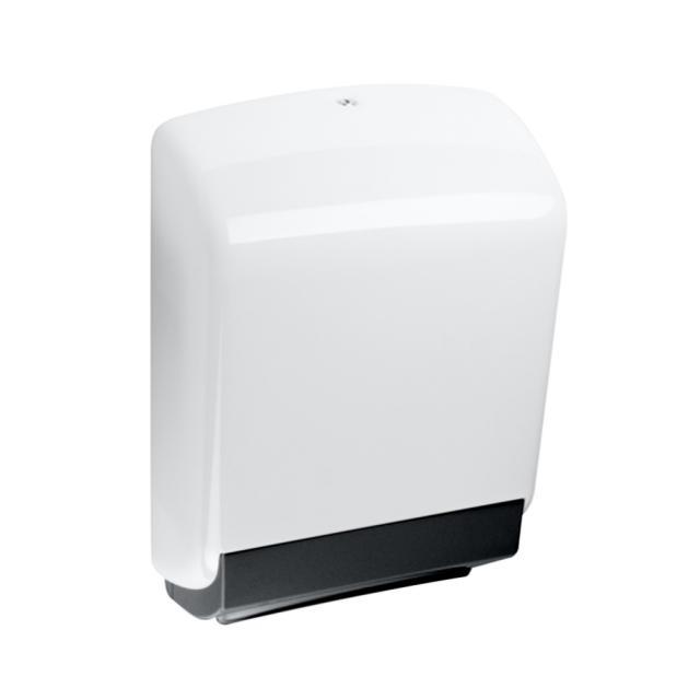 Hewi Series 477 paper towel dispenser white/jet black