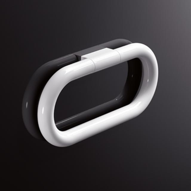 Hewi Series 477 towel ring signal white