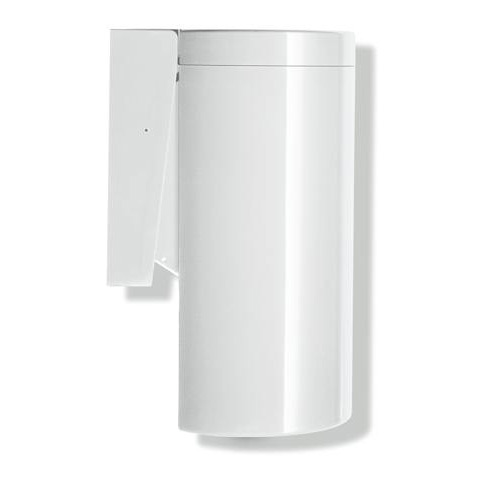 Hewi Series 477 waste bin with bag dispenser pure white