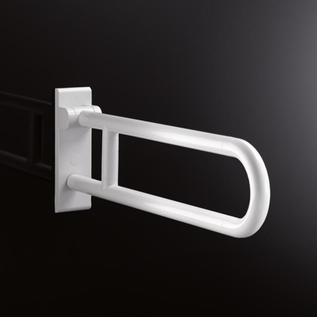 Hewi Series 801 hinged support rail signal white