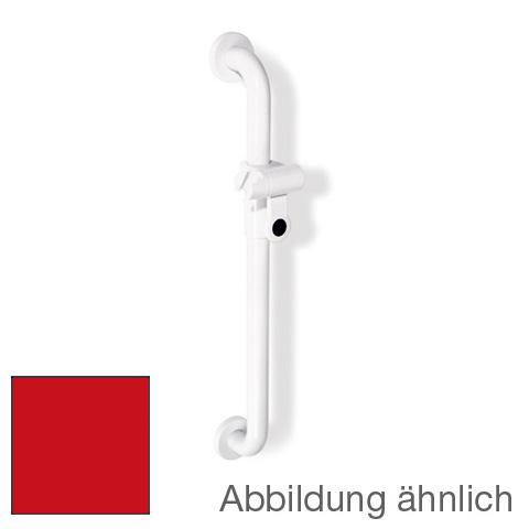 Hewi Series 801 shower rail ruby red