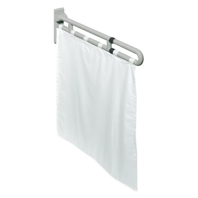 Hewi Series 801 shower splash guard white/silver rock grey