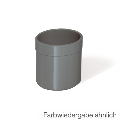 Hewi Series 801 tumbler with flat bottom anthracite grey