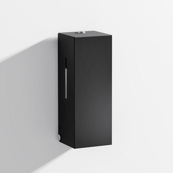Hewi System 900 SENSORIC disinfectant dispenser matt black