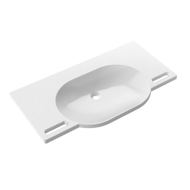 Hewi washbasin without tap hole