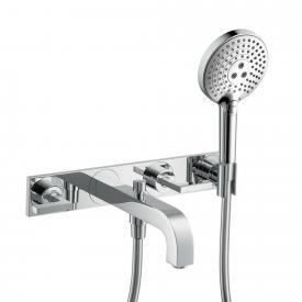 AXOR Citterio 2-handle wall mixer, with hand shower