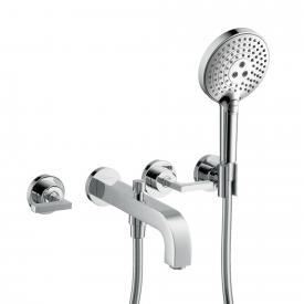 AXOR Citterio 3-hole bath mixer with lever handles