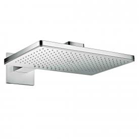 AXOR ShowerSolutions 460 / 300 2jet overhead shower with shower arm, with square escutcheon