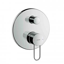 AXOR Uno concealed single lever bath mixer, with loop handle chrome